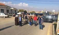 النشرة: اهالي يونين قطعوا الطريق لبعض الوقت احتجاجاً على عدم اعطاء رخص بناء من البلديات