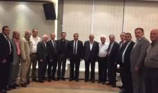 النائب المنتخب فادي سعد استقبل المهنئين بفوزه في الإنتخابات