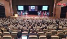 الأسد: بعض الدول تمنع النازحين السوريين من العودة إلى وطنهم
