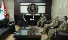 قائد الجيش بحث مع السفير الهندي في علاقات التعاون بين جيشي البلدين