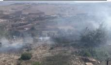 الدفاع المدني أخمد حريقا في بستان في جديدة مرجعيون