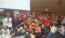 ثانوية حسن قصير تفوز بالبطولة العربية التاسعة للروبوت في بيروت