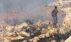 الدفاع المدني: إخماد حرائق أعشاب مختلفة في النبطية وعكار والكورة وصور