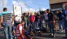 النشرة: سقوط جريح بحادث سير في صيدا