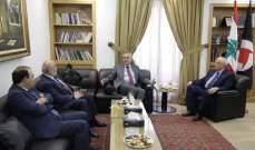 فارس سعد: لمعالجة ملف النزوح السوري عن طريق التنسيق بين الحكومتين