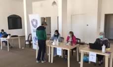مؤسسة شيلد وزعت حوالي 100حصة غذائية على للعائلات السورية في الهبارية