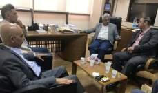 سعد أكد الوقوف دائما إلى جانب الشعب الفلسطيني ودعمه من أجل نيل حقوقه