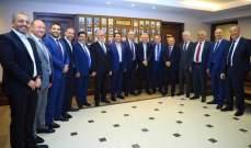 فرنجيه في نقابة المحامين في بيروت: نحتاج الى مقاربة الامور بحنكة وعلم وجرأة