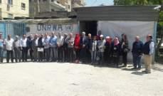 المؤسسات الأهلية بصيدا تؤكد تضامنها مع مطالب اللاجئين الفلسطينيين