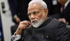 رئيس الوزراء الهندي: نعتمد على نفسنا بشكل كلي بشأن توفير اللقاحات المضادة لكورونا