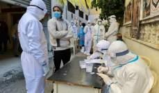 النشرة: تفش كبير لكورونا بعين الحلوة وارتفاع بعدد الإصابات والوفيات