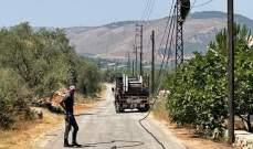 النشرة: ربط شبكة كهرباء حاصبيا بشبكة جديدة لتغذية بلدة ابو قمحة