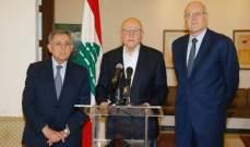 الحياة: ميقاتي والسنيورة وسلام يزورون مصر والكويت قريبا واهتمام عربي بأحداث لبنان