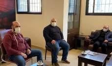 سعد طالب فهمي بشمل تجار صيدا بالمرحلة الأولى من اعادة فتح البلد