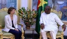 بارلي جددت لرئيس بوركينا فاسو دعم فرنسا لقوة مجموعة دول الساحل الخمس