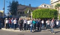 انتشار أمني حول مبنى مصرف لبنان في صور