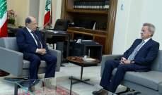 حاكم مصرف لبنان من بعبدا: الاستقرار مستمر في الليرة والسوق المالية