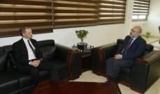 الأبيض عرض مع السفير البريطاني مشاريع الدعم للقطاع الصحي