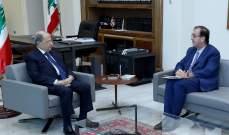 الرئيس عون استقبل فوشيه وعرض معه الأوضاع العامة في البلاد