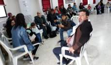 النشرة: بدء مغادرة عشرات النازحين في النبطية الى سوريا