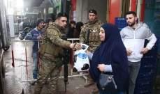 """الجيش: توزيع مساعدات في طرابلس بإطار برنامج التعاون العسكري- المدني """"CIMIC"""""""