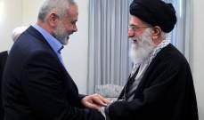 روحاني لهنية:القرار الأميركي يمثل قمة العدوان من دول الإستكبار العالمي