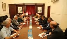 لقاء بين قيادتي امل وفتح اكد اهمية تعزيز الوحدة الفلسطينية