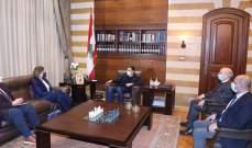 الحريري استقبل السفيرة الاميركية وعرض معها الاوضاع