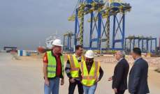 مدير مرفأ طرابلس: تفريغ اكبر كمية حبوب من سفينة واحدة دليل على تطور الإمكانيات الخدماتية