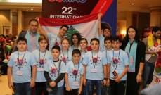 أطفال لبنان أحرزوا المراكز الأولى بمسابقة الحساب الذهني الفوري بكوالالمبور