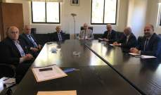 نواب البقاع زاروا الجسر وتابعوا معه قضايا انمائية والاوتستراد العربي