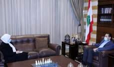 """سعد الحريري عرض لآخر التطورات مع بهية الحريري والتقى وفد """"مؤسسة البطريرك صفير"""""""