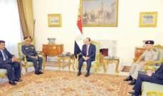 السيسي: لعدم السماح لأي مشكلات بالتأثير على العلاقات بين مصر والسودان