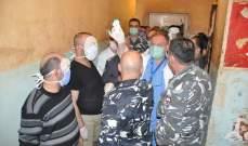 وفد من وزارة الصحة يتفقد سجن النبطية: لا وجود لاي حالة مشتبه بإصابتها بالكورونا