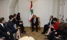 عون لوفد منظمة تاسك فورس فور ليبانون: الوضع الامني ممسوك في لبنان