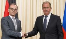 وزيرا خارجية روسيا وألمانيا أكدا ضرورة الحوار بين جانبي النزاع في أوكرانيا