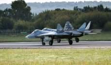 """روسيا تعلن تحطم أولى طائراتها الحربية """"إس.يو-57"""" الأكثر تطورا"""
