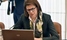 ريا الحسن: مجلس المقالع سيدرس وضع الكسارات ولتوقيف من لا يستوفي الشروط