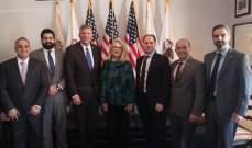 الجميل اجتمع بأعضاء في الكونغرس الأميركي وشدّد على ضرورة حماية العملية الانتخابية