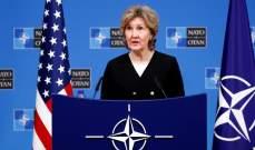 """مندوبة أميركا لدى الناتو: لا نتفق مع ماكرون بشأن """"الموت الدماغي"""" للناتو"""