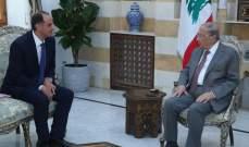 الرئيس عون تابع التطورات التي استجدت بعد العدوان الإسرائيلي الذي استهدف الضاحية الجنوبية