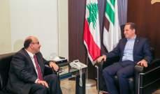 سامي الجميل بحث مع سفير الأردن بآخر التطورات في لبنان والمنطقة