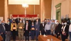 بلدية طرابلس تحتفل تحتفل بإعلان نتائج الفحوصات السلبية لـ520 شخصا