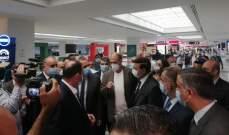 وزير الأشغال من المطار: الترتيبات بحاجة الى اعادة نظر وتعديل