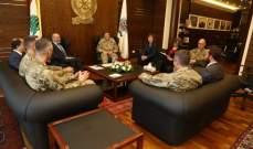 الصراف استقبل قائد القيادة الأميركية في الشرق الأوسط