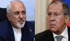 خارجية روسيا: لافروف وظريف يبحثان في موسكو غداً تسوية الأزمة في سوريا