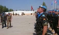 الكتيبة الإسبانية تحيي ذكرى مقتل 6 جنود لها في الجنوب عام 2007