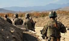 الدفاع الأذرية: أسر 6 جنود أرمن عقب إفشال محاولة تسلل على الحدود