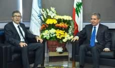 وزني التقى نائب مدير المكتب التنفيذي للدول العربية في صندوق النقد الدولي