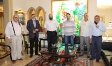 القاضي أدهم زار السعودي شاكرا بلدية صيدا على جهودها لإخلاء مبنى مجمع الأوزاعي من النازحين طوعا